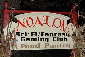 Avalon Sci-Fi/Fantasy Gaming Club and Food Pantry